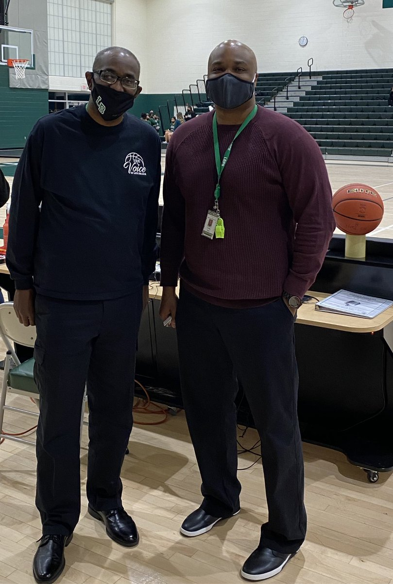Opening Day Basketball and the Voice of Long Branch is back!!! #thevoice #wavepride #waveathletics