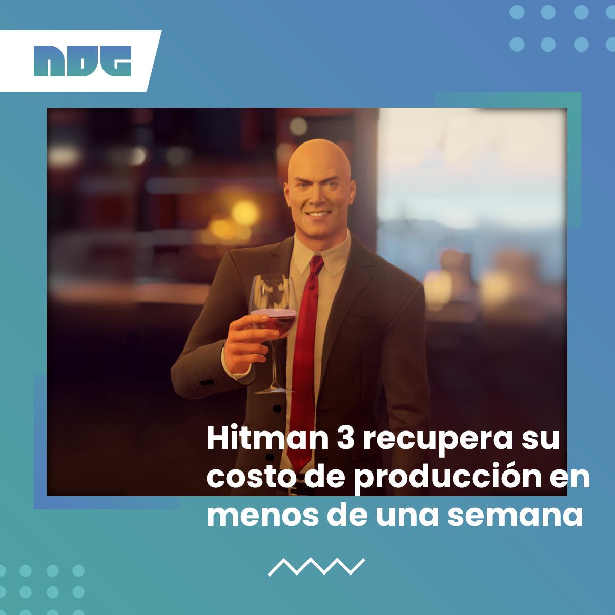 #Hitman3 ya recuperó sus costos de producción en menos de una semana de haberse lanzado ¡Salud, pelao!  #Hitman #IOInteractive #ventas #agent47