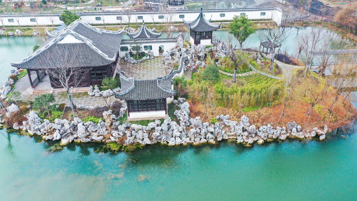 #AmazingChina An ancient #courtyard in Nanxun District, east #China's Huzhou City.
