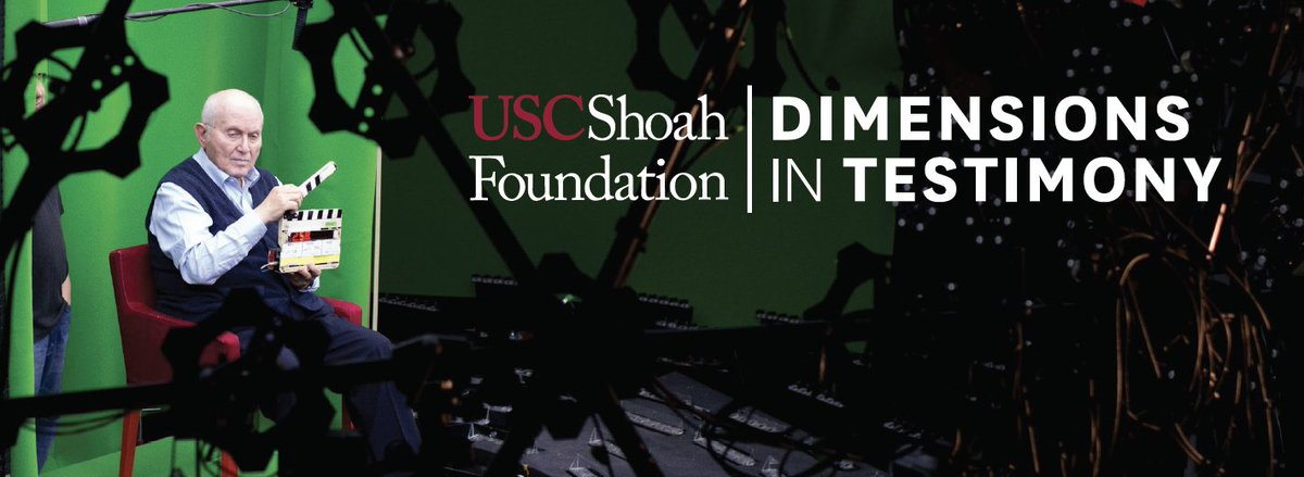 On International #HolocaustRemembranceDay we wish to highlight @USCShoahFdn's Dimensions in Testimony, a cutting-edge exhibit powered by next generation natural language processing & other advanced filming technologies developed by @USC_ICT #USC