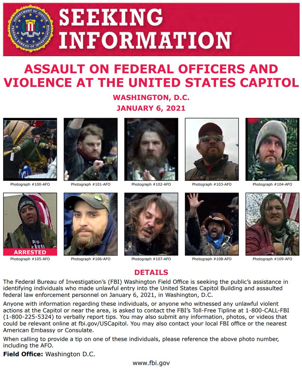 We are continually updating our posters with new photos! Use the link below to see photos of individuals we are asking the public's help to identify. Thank you for your continued help & support!