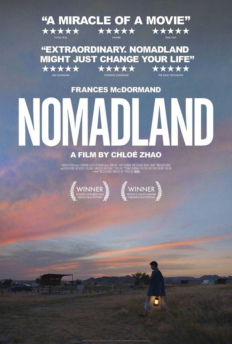 #Nomadland the Real #AmericanDream   #watch #this