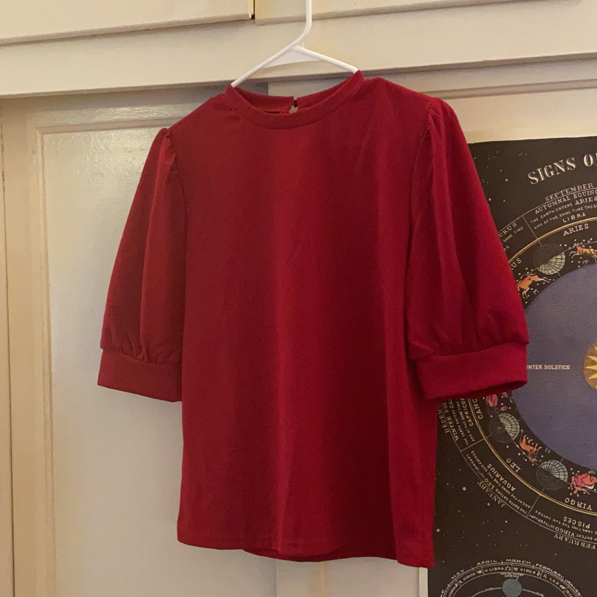 But also red blouse arrived today 😛