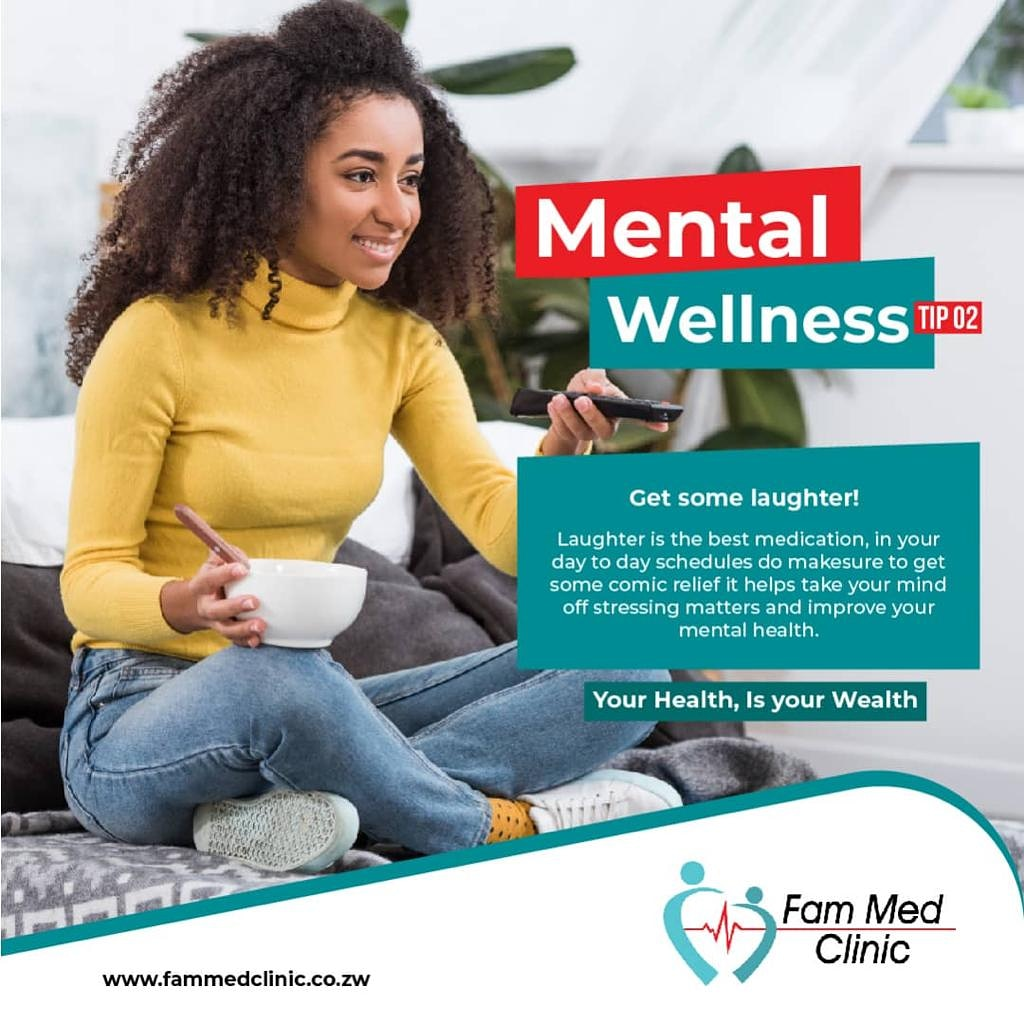 Sometimes you need to put your phone down, free your mind from the stress of what is currently going on and get some laughter.  Good for your mental health. #COVID19 #staysafe #maskup