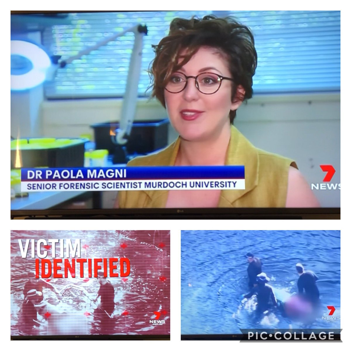 Thank you @EmilyClareBaker @7NewsPerth for swinging by @MurdochUni to discover the potentials of #forensicscience in investing cases in #aquatic environment!  #AquaticForensics #WomenInSTEM #STEM #forensics #scicomm #casework #research