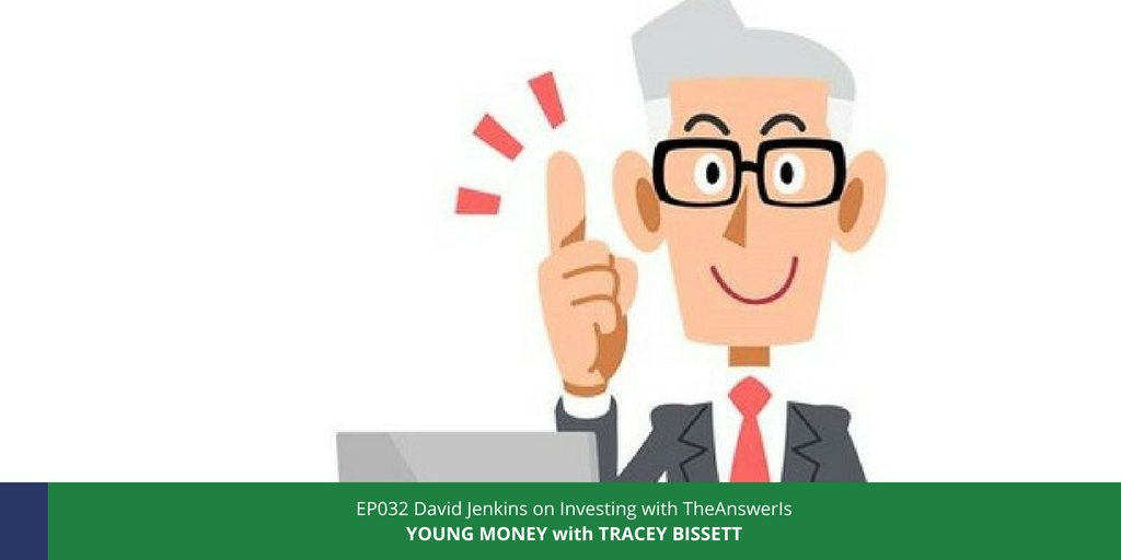"""""""Being young is your biggest investing advantage"""" says David Jenkins of theanswerisca in EP032 of the Young Money podcast. Find out why here: . #younginvestor #compoundinterest #startearly #startsmall #payyourselffirst #yolo #adulting #fomo #return #yields"""