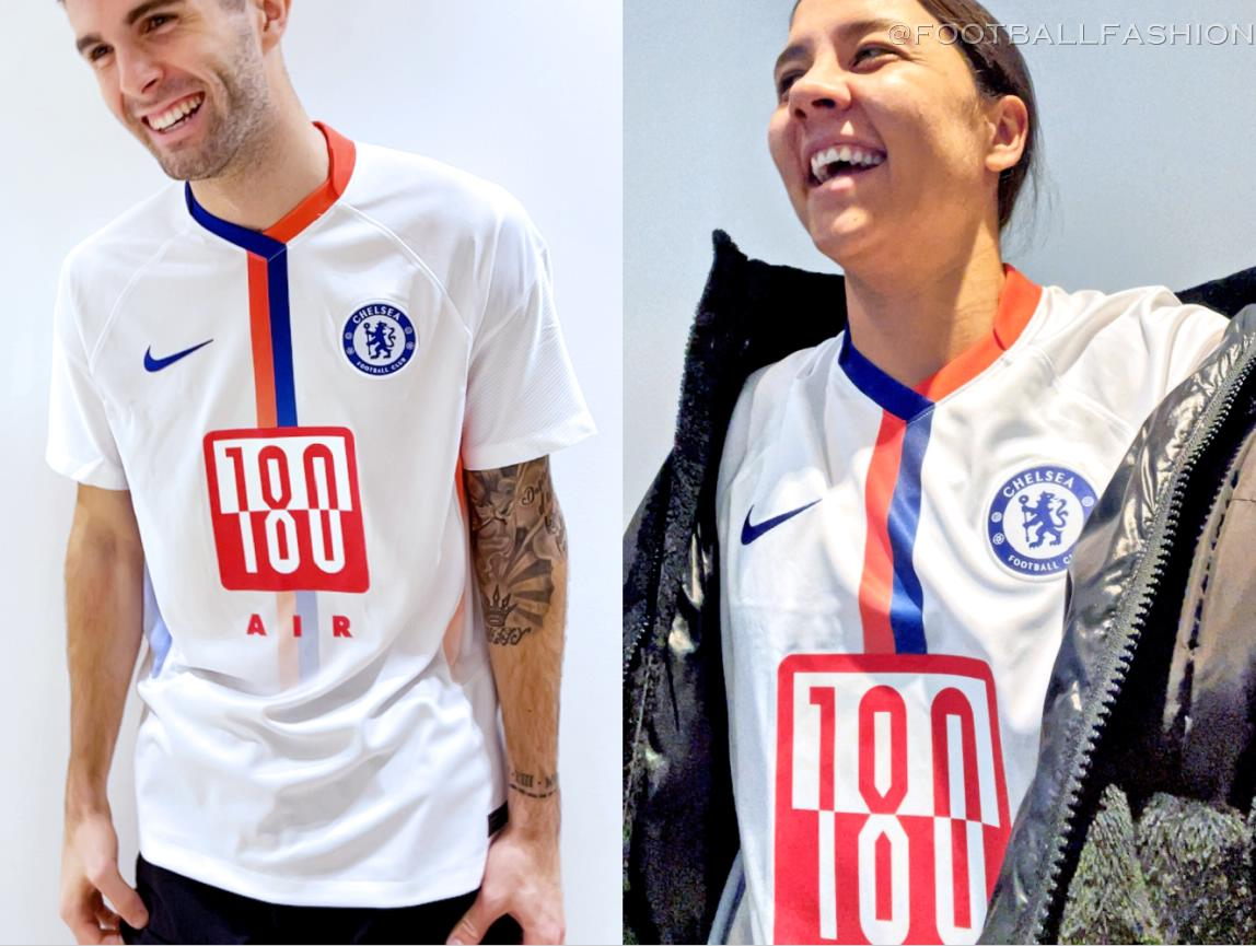 Chelsea FC 2021 Nike Air Max Jersey  -   #CFC #Chelsea #ChelseaFC #PremierLeague  #Nike #NikeFootball #AirMax #PL #EPL