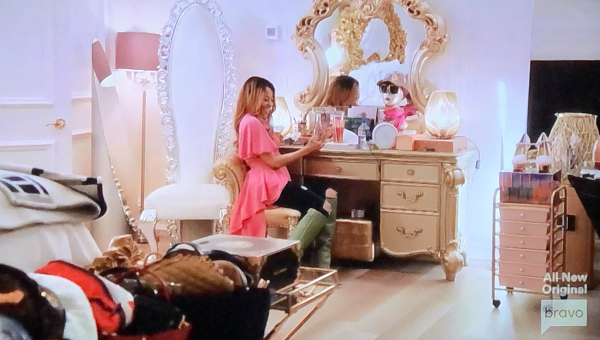 Mary really has filmed this entire show in her closet... I'm shocked it wasn't the reunion set at this point #RHOSLC 😂