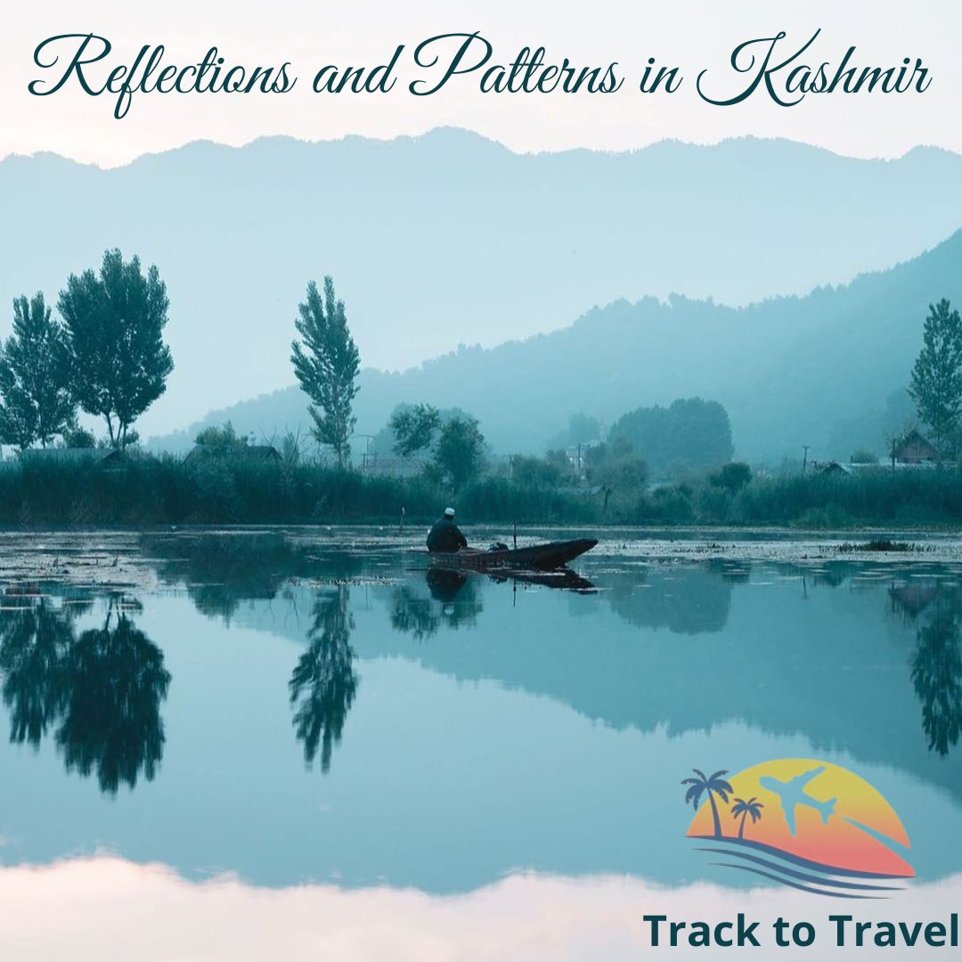 Reflections and patterns in Kashmir. Dreaming of Kashmir? Plan your holiday with us @tracktotravel1  #tracktotravel #instagram #traveladdict #beautifuldestinations #kashmir #instalove #photoshoot #travelphotography #like4follow #jammukashmir #kashmirtourism #travelmore #NewPost