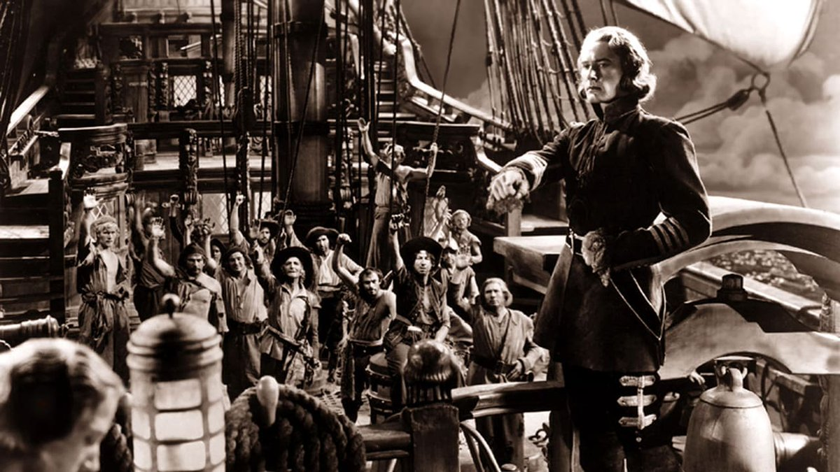 """Captain Blood [89] HBO Max:  """"The blueprint for every pirate movie since."""" - Steve Pearsall"""