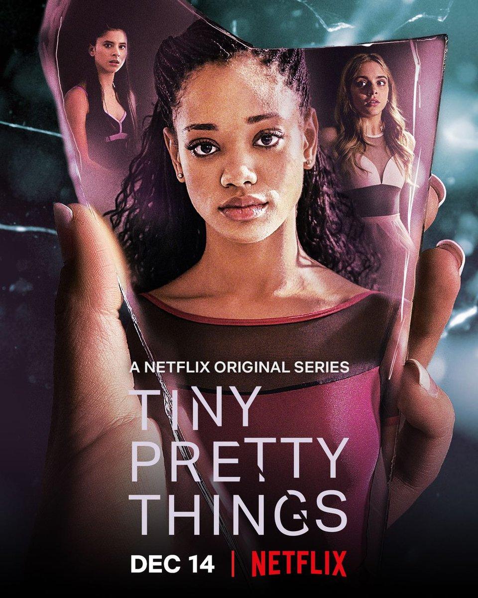 #TinyPrettyThings en #Netflix No es el Cisne Negro, no es Fama, no tiene la profundidad de #Euphoria, pero es entretenida y surfea temas como la identidad sexual, la corrupción, el abuso sexual en adolescentes y por supuesto la feroz competencia en el mundo de la danza. Buena.