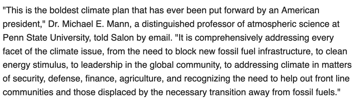 Some comments on President @JoeBiden's newly-unveiled climate plan, via @MatthewRozsa / @Salon: https://t.co/Ug3du8p3tZ https://t.co/HuzJv5Fv7Q