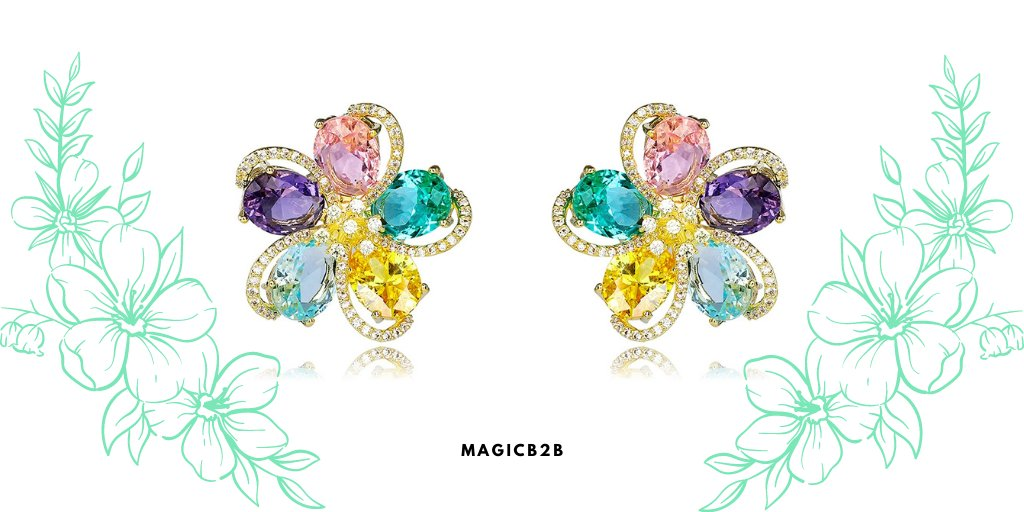 Also available in rainbow colors shop link:  #jewelry #accessories #magicb2b #wedding #prom #party #malaysia #singapore #nigeria #usa #uk #jewelrywholesale #australia #christmas #ValentinesDay #earring #earrings #luxury #flower #flowers #floral #rainbow