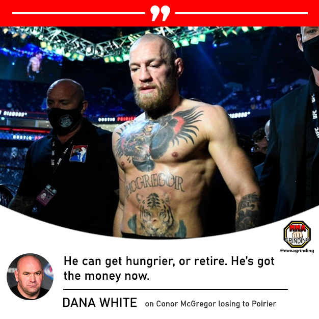 What do you think Conor McGregor will do with his loss to Dustin Poirier? Rise or retire? #ufc #ufc257 #mcgregorvspoirier2 #mcgregor #poirier