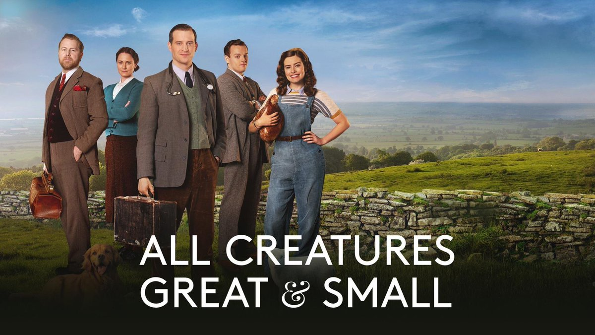 This newest adaptation of All Creatures Great and Small is delightful, heartwarming, charming, wonderful, and will make your life better in every way! 😊🐾 https://t.co/LctR6cB54c