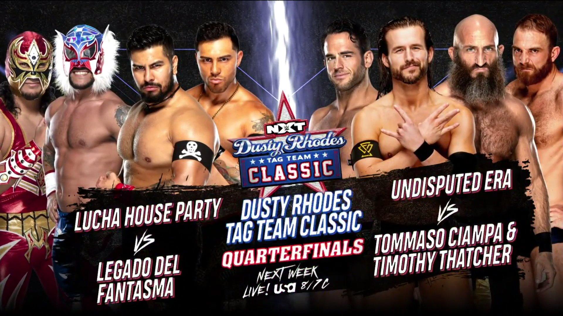 WWE NXT: Updated Bracket For 2021 Men & Women Dusty Classic 1