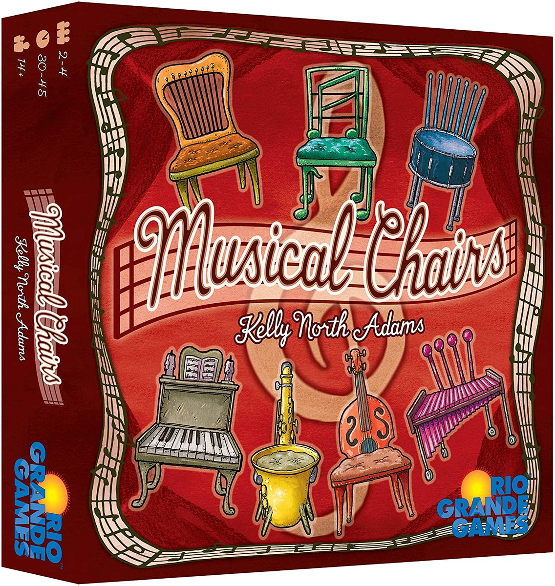 Rio Grande's Musical Chairs for under $18.  MSRP is $29.95.  #ad  TGDrepost