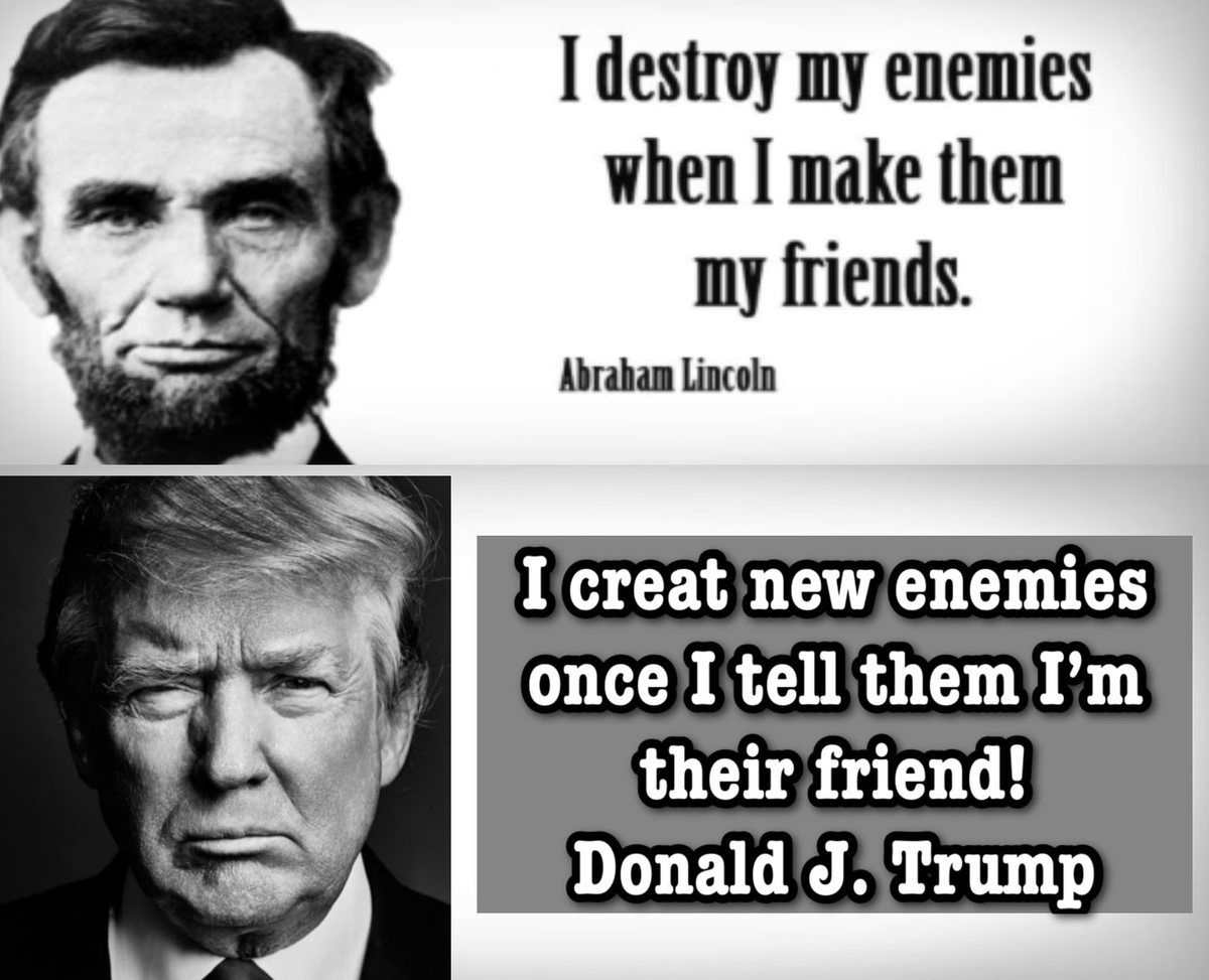 "The Party of Lincoln........ Not anymore  The GOP  has managed to destroy the very essence of their own party and the basis for our Democracy  Stop using Lincoln, he does not approve.....  May I suggest ""Benedict Arnold"" a more appropriate role model for the GOP  #FreshVoicesRise"