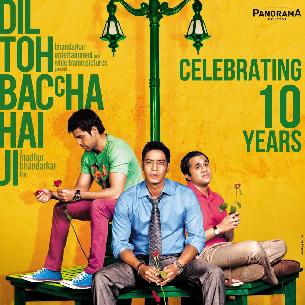 The journey to finding true love is like riding a rollercoaster. Dil Toh Baccha Hai Ji takes you through that fun ride that will leave you asking for more.  Celebrating a decade of #DilTohBacchaHaiJi  @ajaydevgn@emraanhashmi@OmiOneKenobe