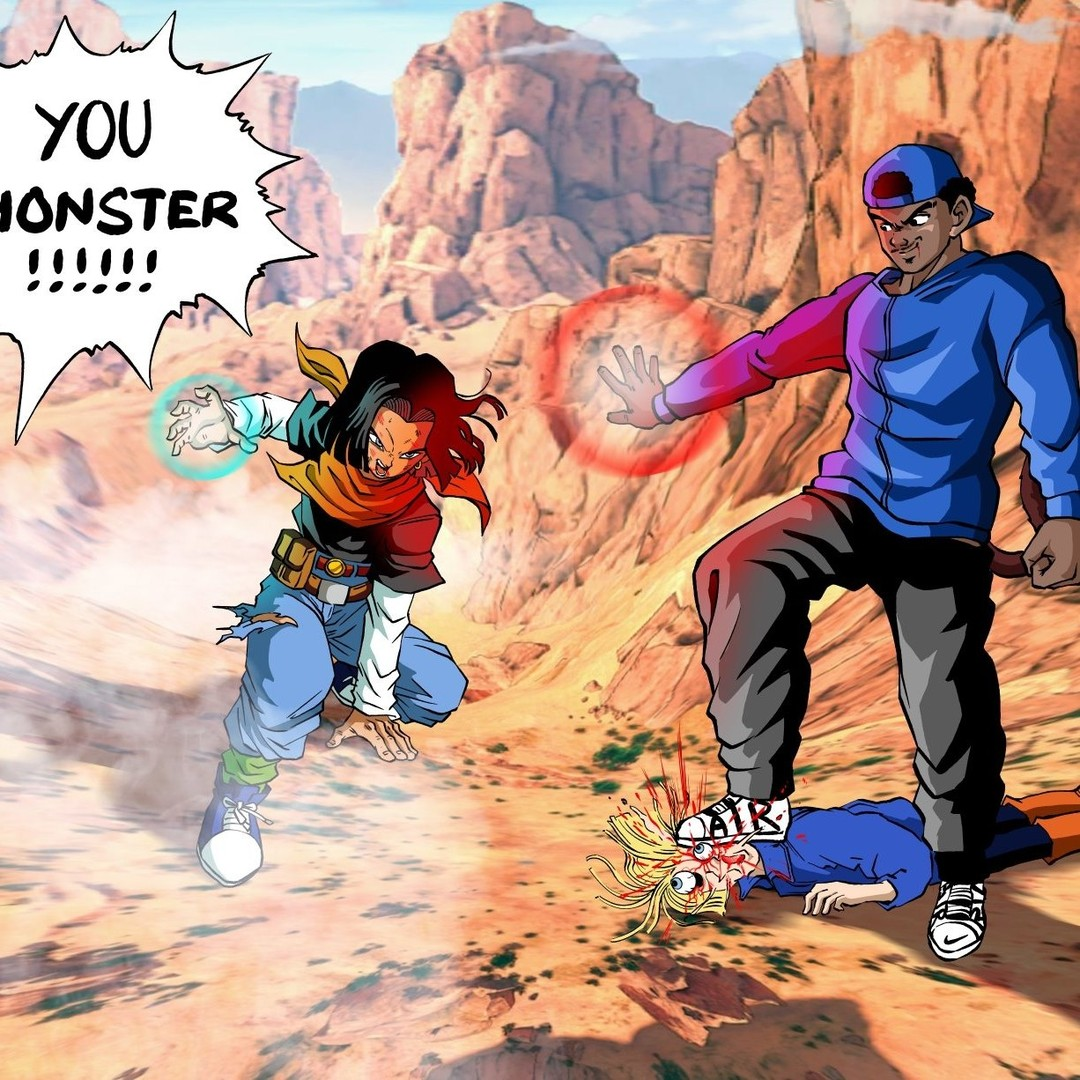 You monster!!!@k_ballinout⠀ #supersaiyan #goku #dragonballz #dragonball #dragonballsuper #vegeta #dbz #anime #dbs #saiyan #gohan #ssj #broly #dragonballgt #trunks #manga #gogeta #db #dbgt #songoku #bulma #beerus #dragonballheroes #supersaiyanblue #vegito #goten #frieza
