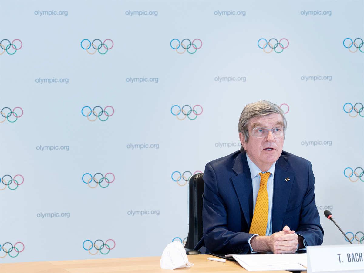 Olympic chief Thomas Bach calls for 'patience' over Tokyo Games  READ:    #Olympics #TokyoOlympics #ThomasBach
