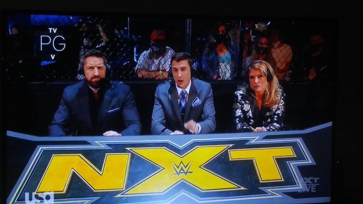 My commentators can beat up your commentators. #WeAreNXT
