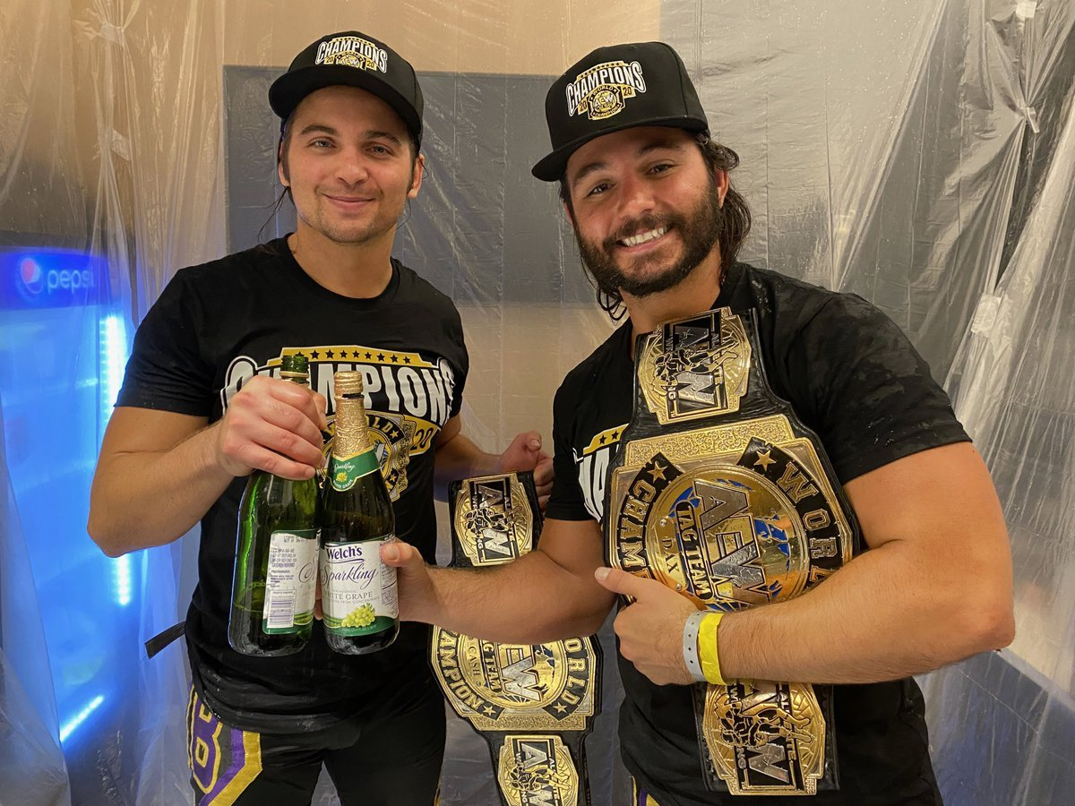 What are your overall thoughts on The Young Bucks? 🤔...  #WrestlingCommunity