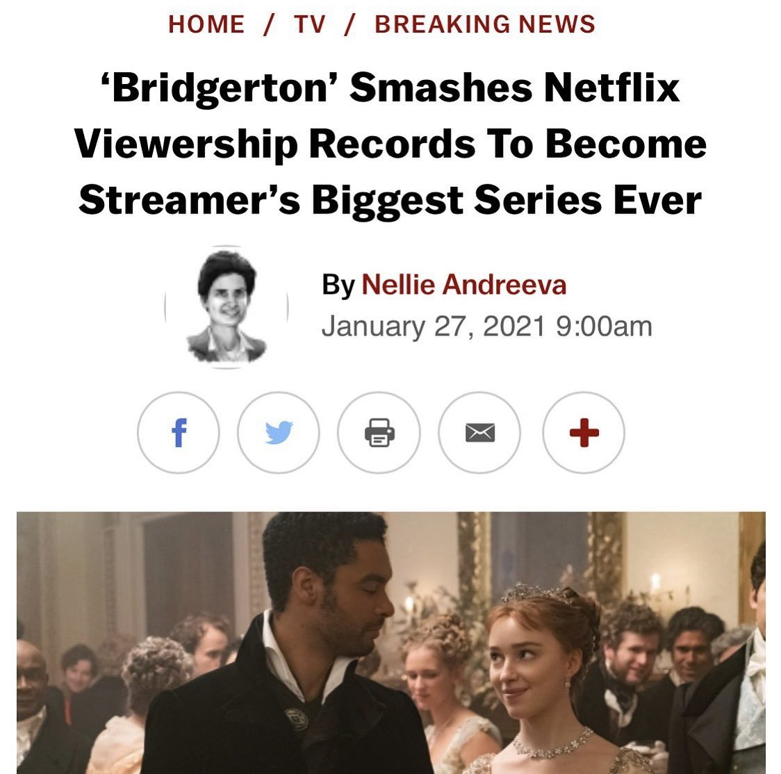 Leaving your first network, getting a huge overall deal with a new studio and, as a result of that overall deal, putting up numbers like this with your first at-bat   is some G shit.   No other way to put it.