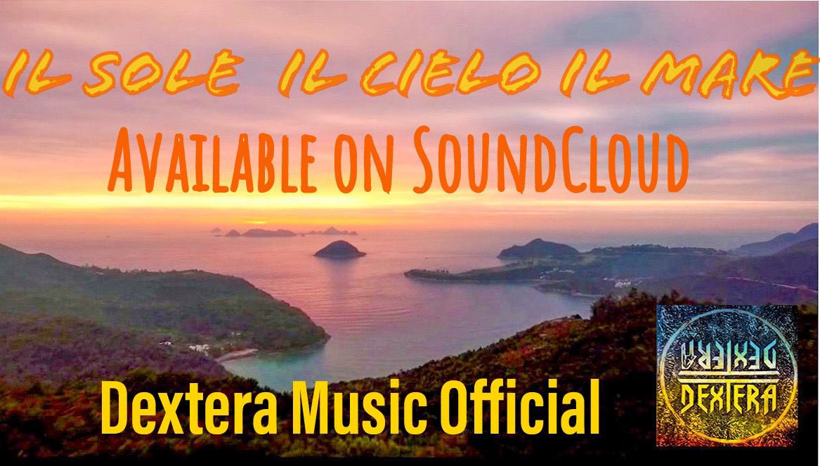 """The new song """"il sole il cielo il mare"""" is now available on SoundCloud . This is a link  #ComingSoon  #SoundCloud  #italysong  #cantautori  #canzonitaliane #rockandroll  #songwriter #sky #sun  #sea"""