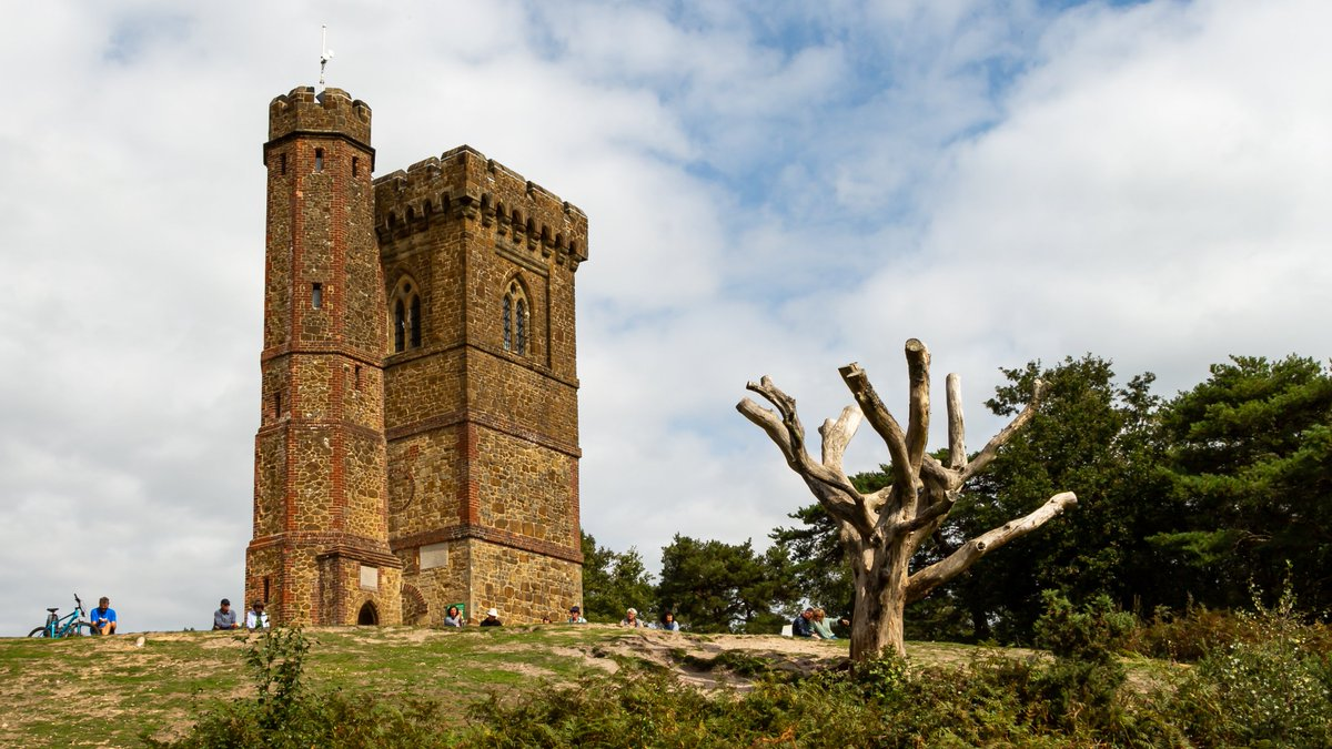 Leith Hill Tower, Surrey, the highest point in southern England. #Surrey #England #NationalTrust #landscape #landscapephotography #architecture #architecturephotography #travel #travelphotography #photo #photography #photooftheday