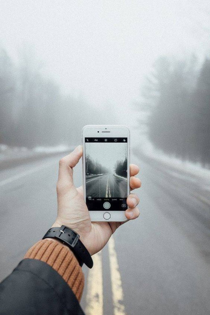¿No es bonito?   #Gadget #Sky #Hand #Technology #Electronicdevice #Photography #Tree #Smartphone #Mobilephone #Finger #fisheye #techie