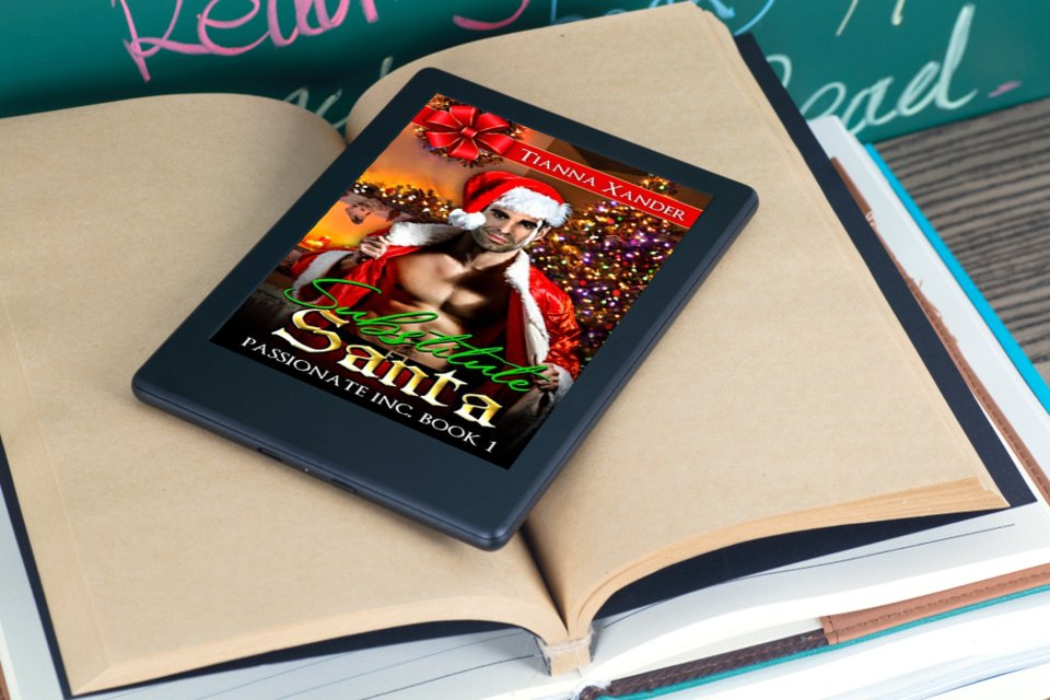 """A great romance novel that catches your eye from the beginning. Get a copy of """"Substitute Santa"""" now. #romance #Christmas #fiction #romantic  @tiannaxander available at Amazon -->"""