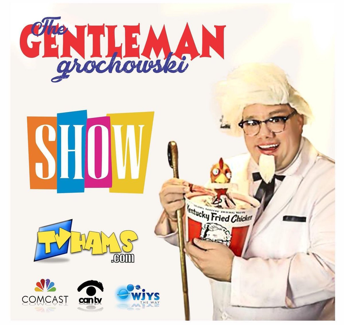 Attention everyone! You may not Win The Powerball or Mega Millions! But this Saturday on WJYS, you can still be entertained watching The Gentleman Grochowski Show! @TVHAMS_TGGS @partee_wesley @comcast @SecondCityTC #silly #thursdaymorning https://t.co/n2zc57ueHz