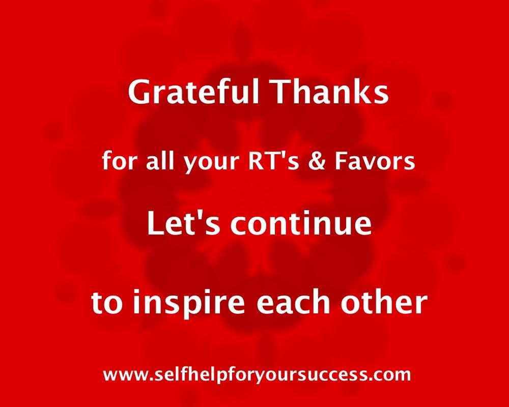 #Grateful Thanks #gratitude