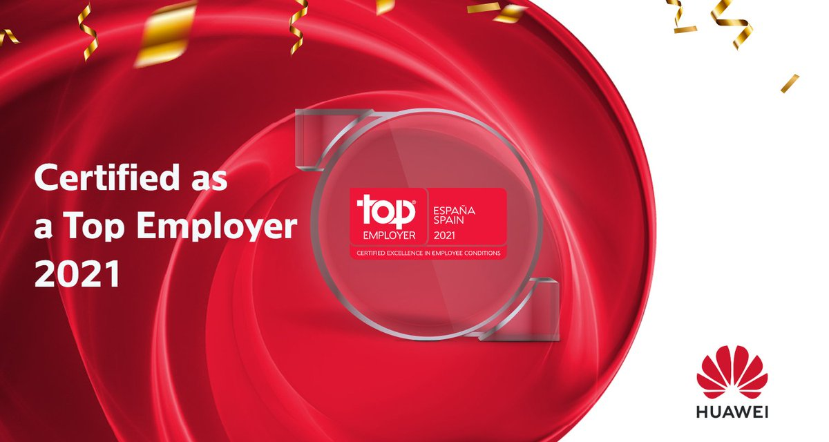 It is with great pride that we receive the Top Employers 2021 certification, which is proof of our commitment, as a company, with the Spanish and European talent. We would like to thank @topemployer for this recognition https://t.co/YmlQIUDPYh https://t.co/LVYK4RUC5Z