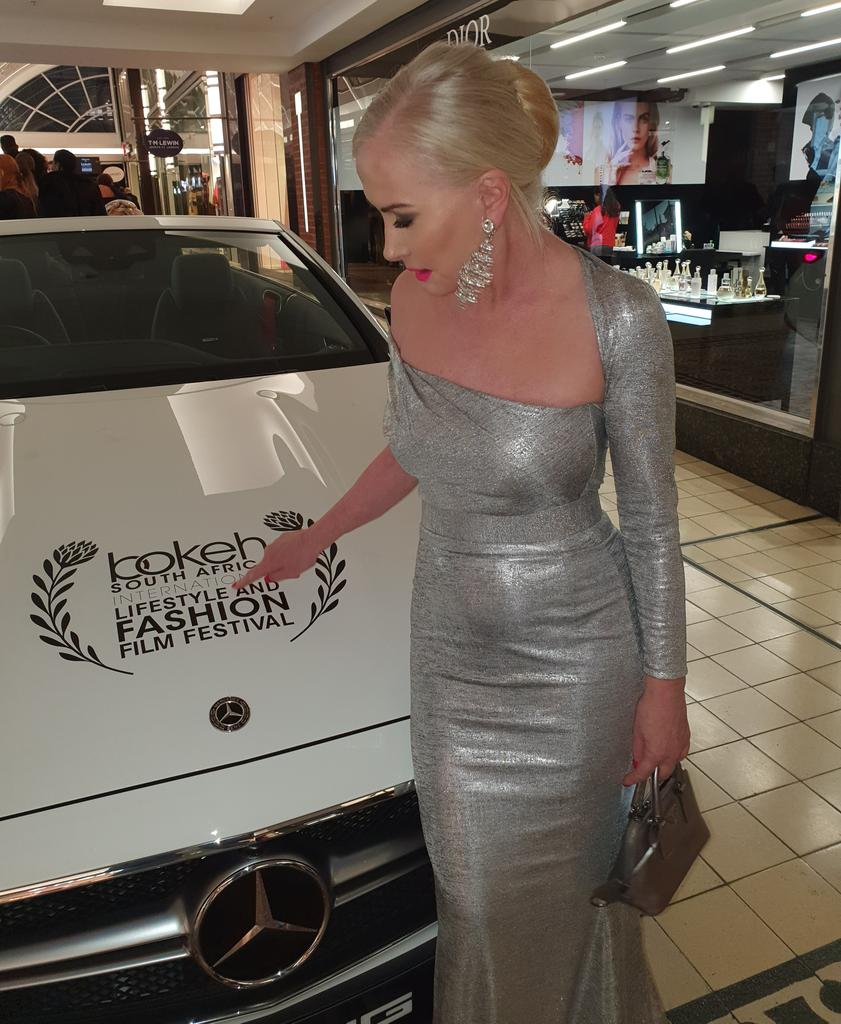 #ThrowbackThursday #Tbt  ( before Covid ) at the uber glam  Red-carpet evening  with @Bokehfff  and founder Adrian Lazurus of the Bokeh Fashion and film festival .  #bokehfff #film #fashion #lifestyle #CapeTown #SouthAfrica
