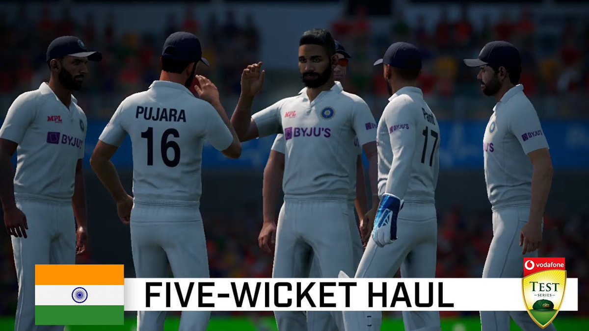 Siraj 5 wickets haul Recreated woth Original Commentary ! #AUSVIND  #siraj #MohammedSiraj #AUSvINDtest