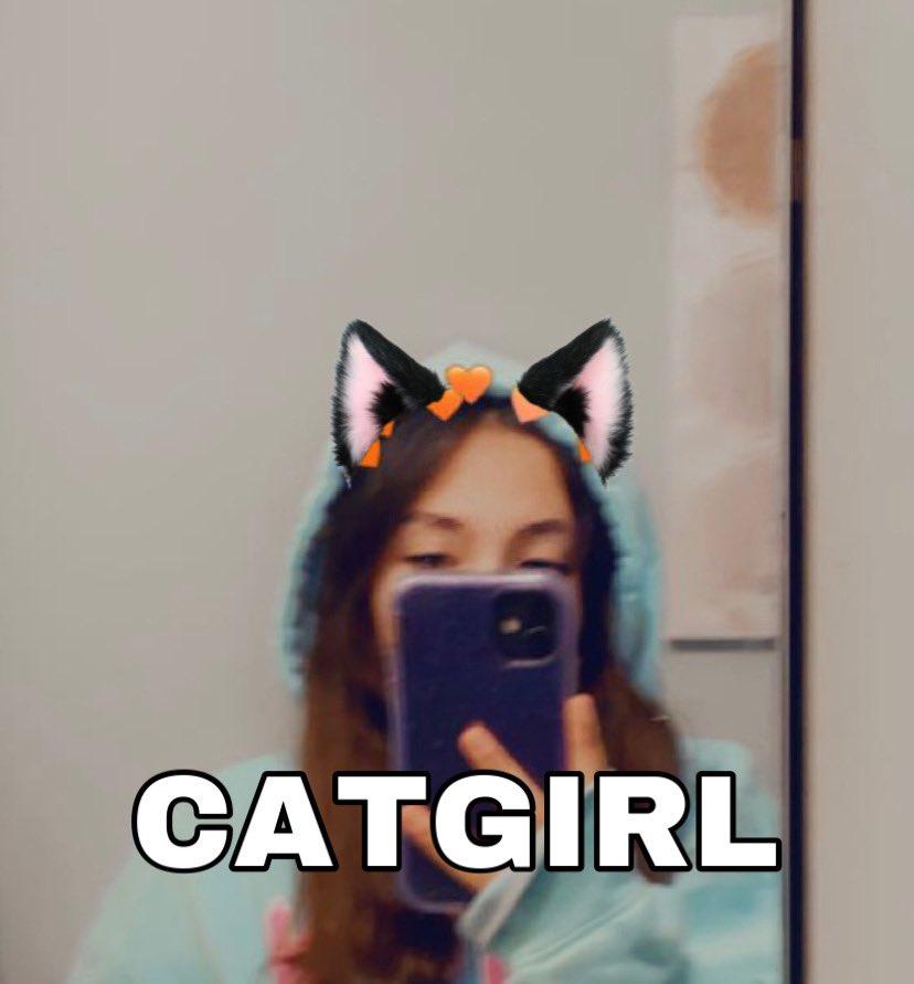oops repost   cat girl and cat boy  #QUACKTWTSELFIEDAY   ——- [rts cool + appreciated]