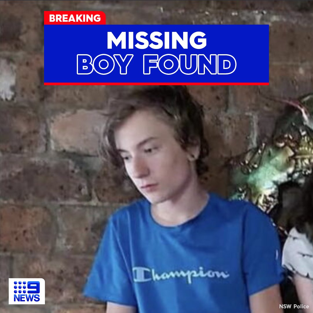 9NewsAUS: RT @9NewsSyd: #BREAKING: The missing 13-year-old boy with autism at Mooney Mooney has been FOUND alive and well.   The latest:  #9News