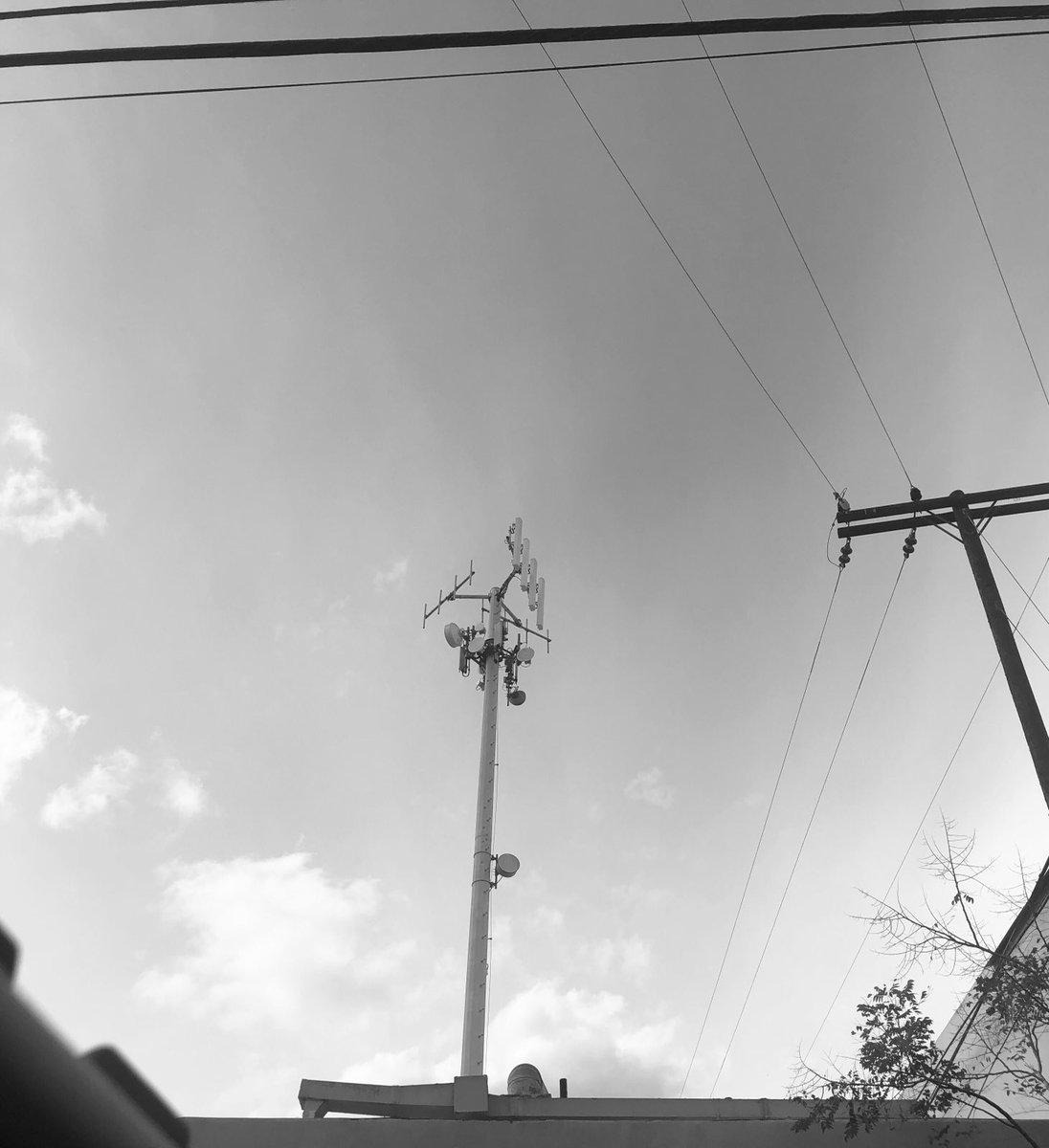 #Sunroof shot. #Wednesday #Downey #California #WednesdayMotivation #WednesdayMood #sky #PowerLines #Electricity #January #January2021 #picture #Tower #photography #phone #photo