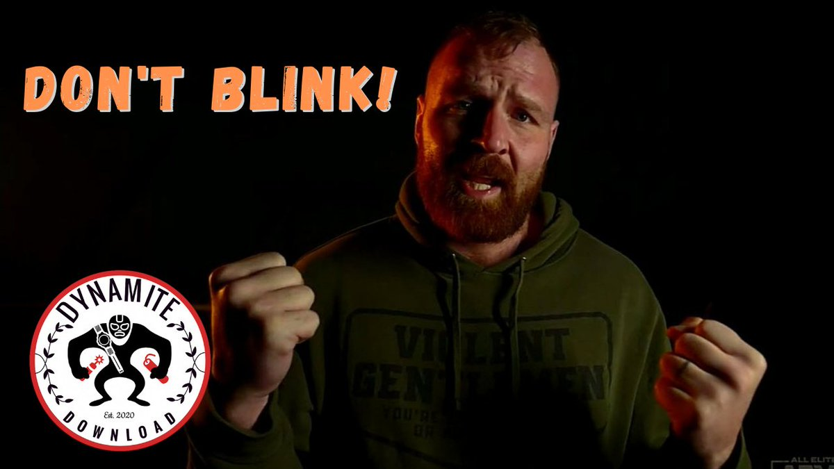 """""""Don't Blink!"""" - @JonMoxley laid it all out ahead of #BeachBreak  Dynamite Download Episode 19 out now! #AEW @AEW #AEWDynamite #AEWonTNT  ⬇️⬇️⬇️⬇️⬇️"""