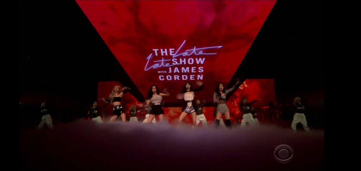 @jennieslyrics @daisyflowerruby @BLACKPINK Thank you @latelateshow @JKCorden for having the girls on your show! It means a lot and us Blinks always appreciate it! 💕  PRETTY SAVAGE ON CORDEN #BLACKPINKxCorden #PURRR @BLACKPINK #BLACKPINK