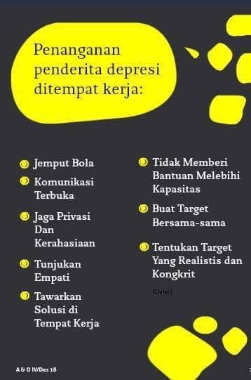 Banyak orang ingin membantu penderita #depresi. Apa saja yang dapat dilakukan? ❤️ A & O Magazine majalah psikologi tentang dunia kerja  #psikologi #karir #motivasi #coaching #training #konsultasi #sehat #sukses #bahagia #gratis #Indonesia #optimis #aandomag