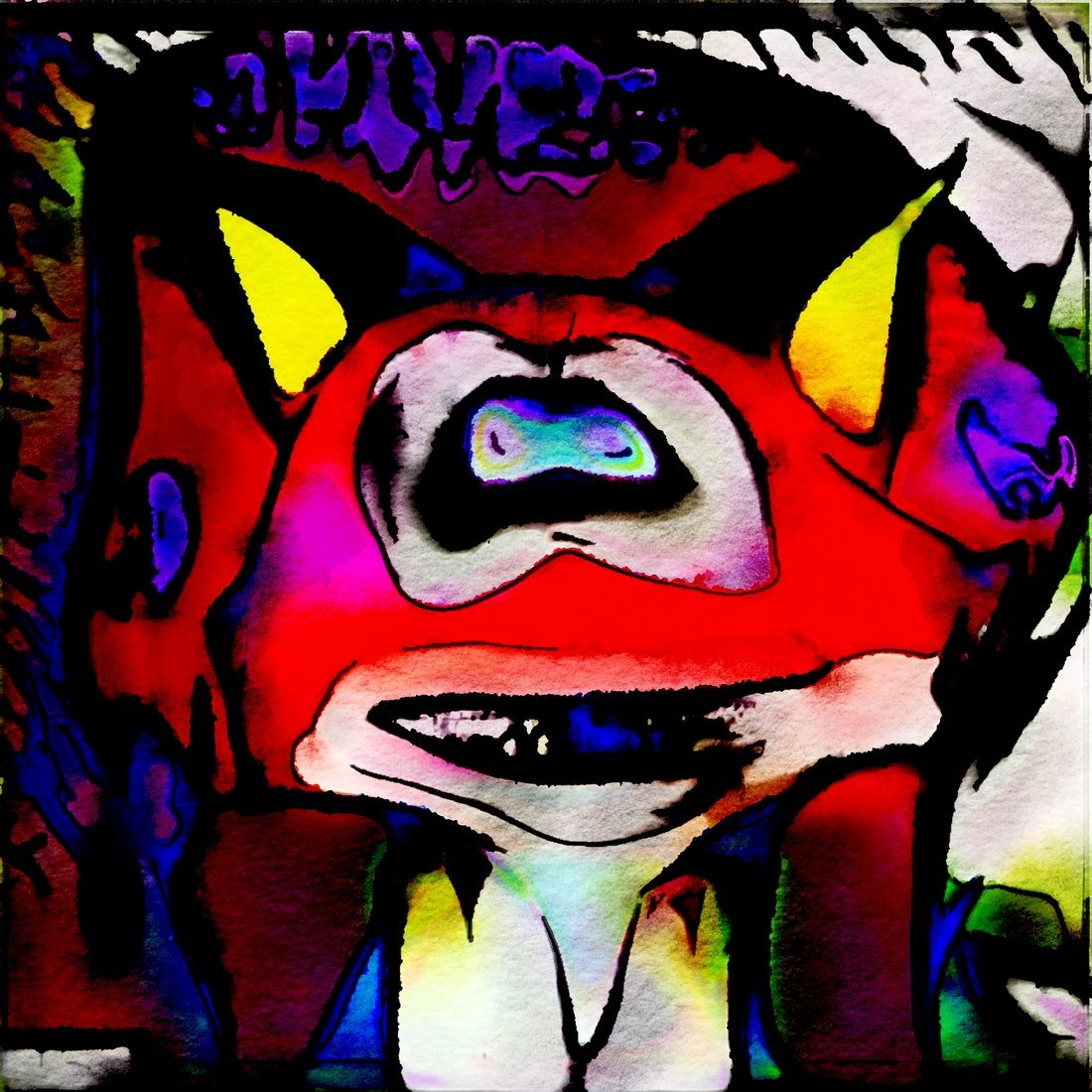 From The Bunny Project in November @KnownOrigin_io       #digitalart #rare #LimitedEdition #blockchain #photoshop #photograph #photo #experimental #abstract #surreal #absurd #cryptoart #eth #BTC #cartoon #generation #scary #funny