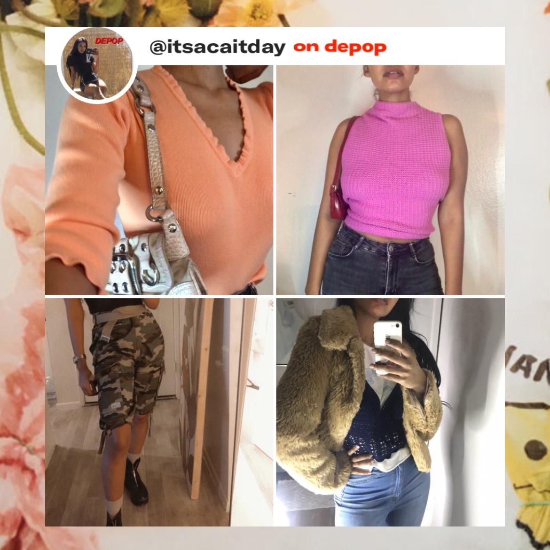H O T Looks on my shop!!  Open 24/7 🦋🦋🦋     #tops #depop #y2k #fauxfur #pink #onlineshopping  #shoponline #depopseller