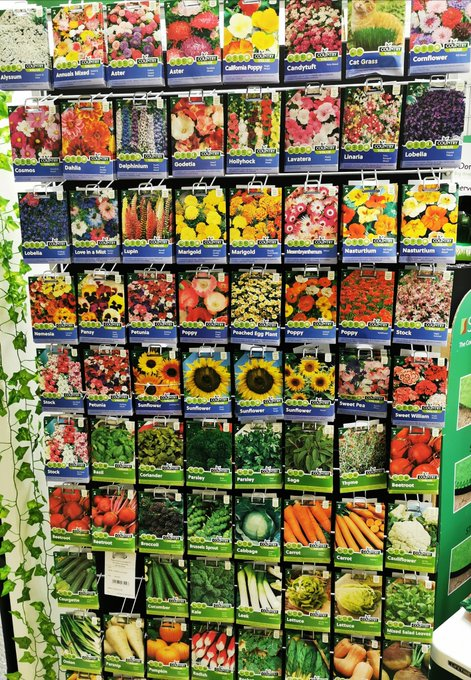 Country Value range of flowers and vegetables Seeds from 99p!  Buy them today right here.   #flowers #EarlyBiz @gardenerscottag