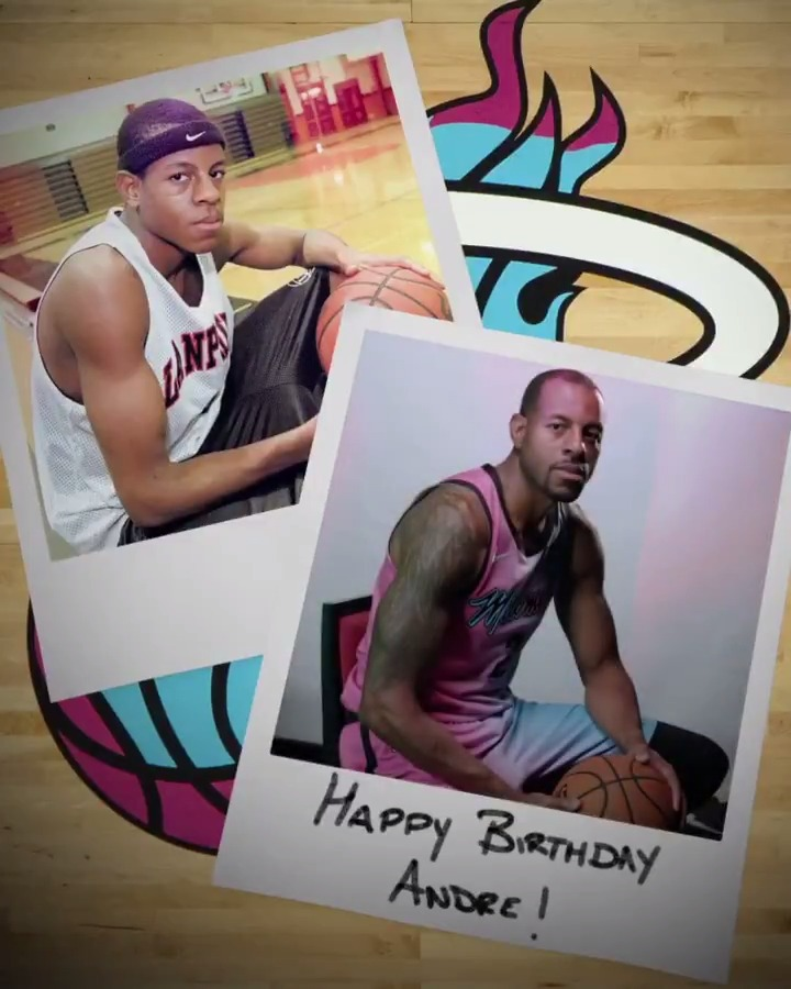 Happy Birthday to one of the most decorated vets in the Association 🎂   A lot has happened in @andre's career over the 20 years between these pics
