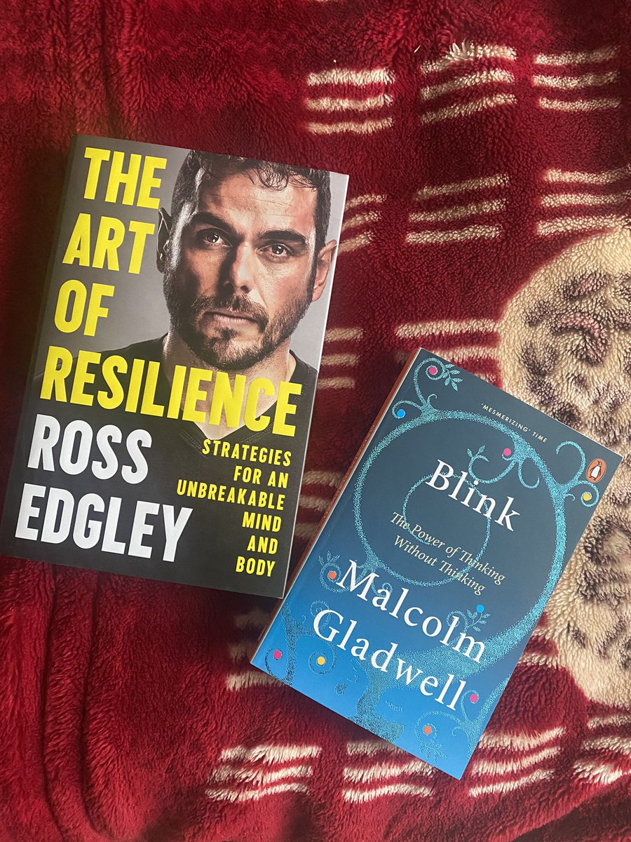 New book drop with @RossEdgley and @Gladwell #bookworm