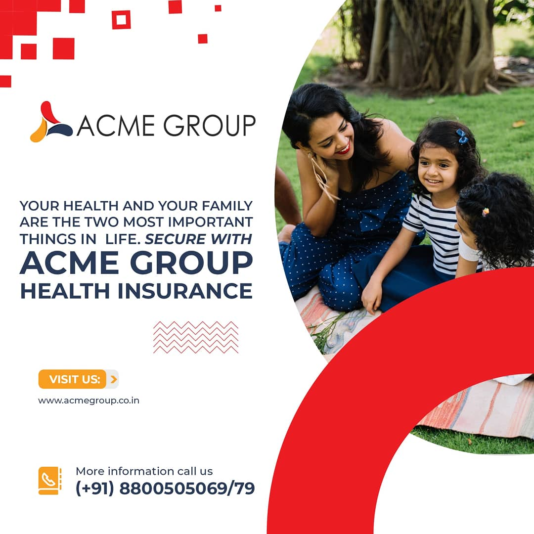 Make sure your family is happy as always, Buy our Family Health Insurance plan and keep their smiles glowing. To know about our health insurance plans, contact us. Call #acmegroup - (+91) 8800505069/79 or #visit #healthinsurance #familytime