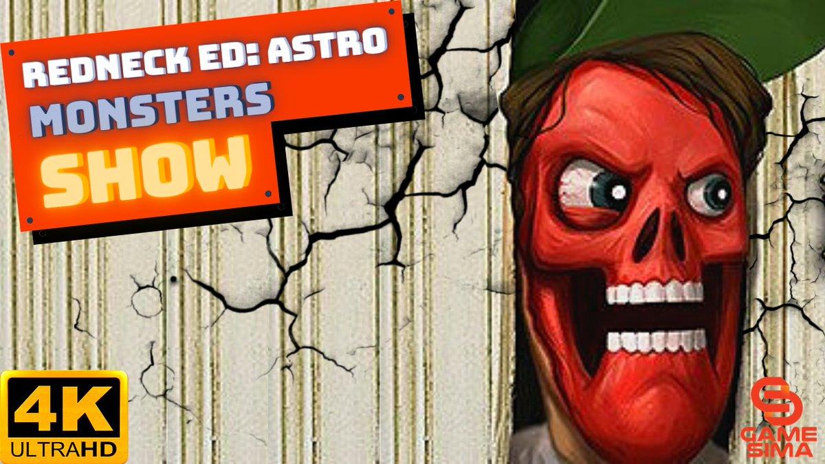 Redneck Ed  Astro Monsters Show Game Trailer – Topnotch Game Trailer 4K Watch Here: ▶️ Enjoy! 🍿 - #GameSima #topnotchgame #videogames #games #gamers #gaming #gameplay #playingvideogames #Steam #gametrailer #beatemup #RedneckEd - @Game_Sima @Ed_the_Redneck